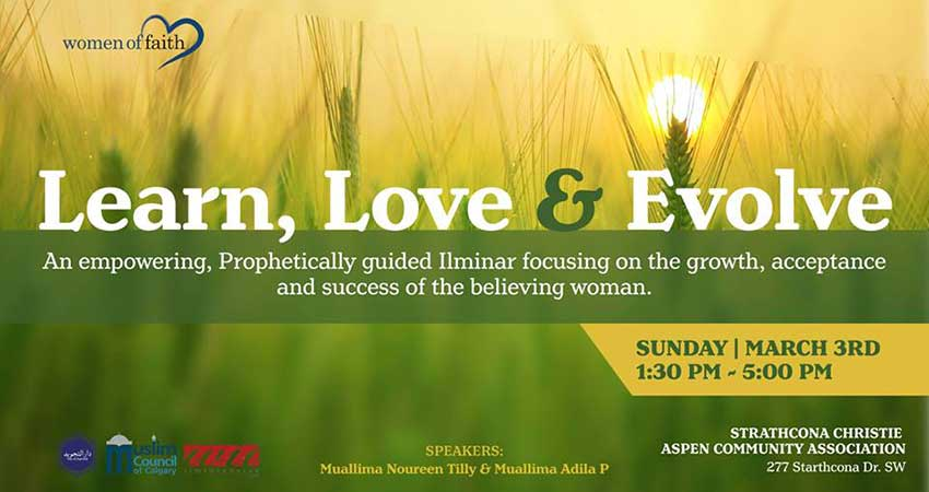 Women of Faith: Love, Learn and Evolve