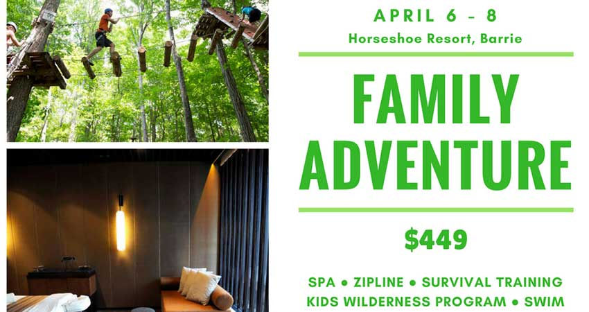 EPIC Adventures Family Adventure Weekend