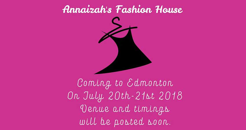 Annaizah's Fashion House Pakistani Clothing Exhibition