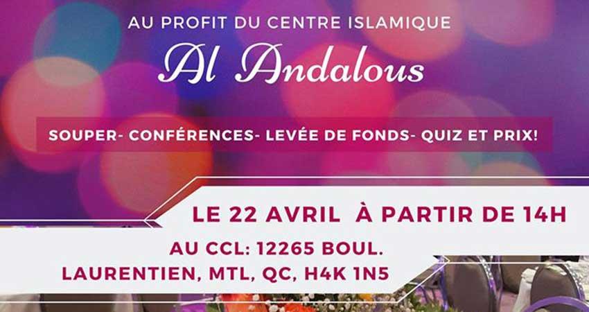 Jeunesse Musulmane Productive Souper bénéfice entre femmes au profit du centre islamique Al Andalous