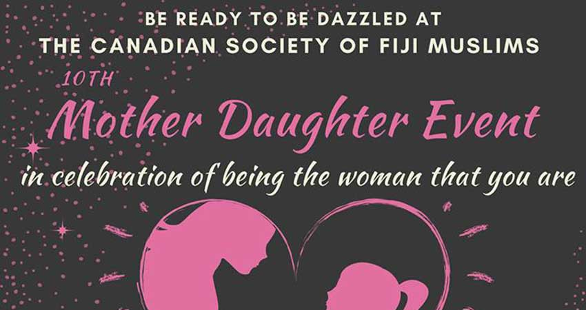 Canadian Society of Fiji Muslims Mother Daughter Event