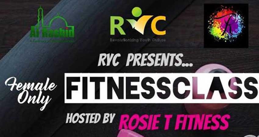 Al Rashid Youth Club Female Only Fitness Class