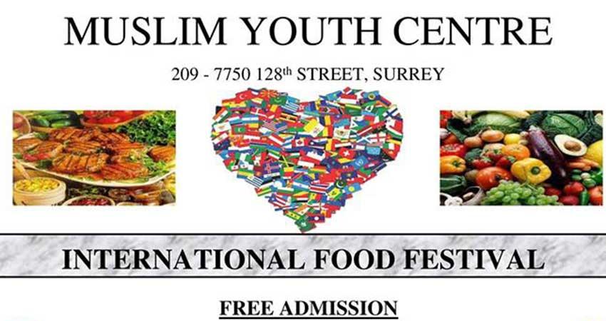Muslim Youth Centre International Food Festival