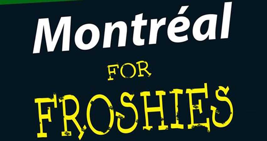 MSA McGill MSA Frosh 2018: Montréal For Froshies!