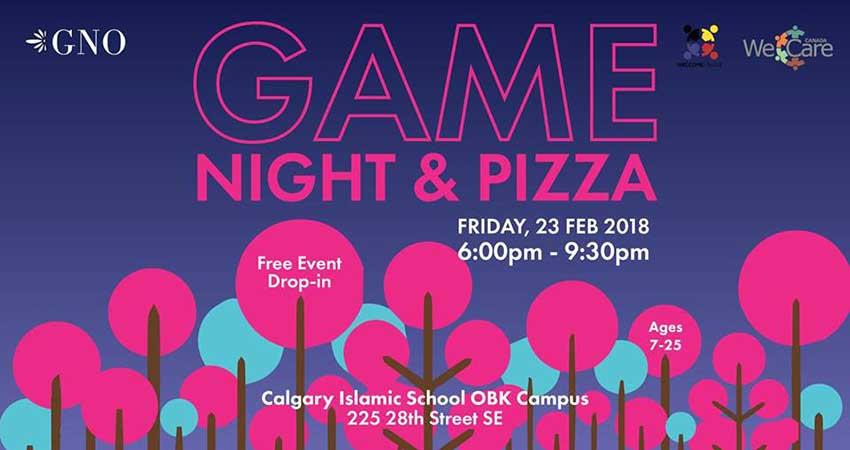Girls' Game & Pizza Night