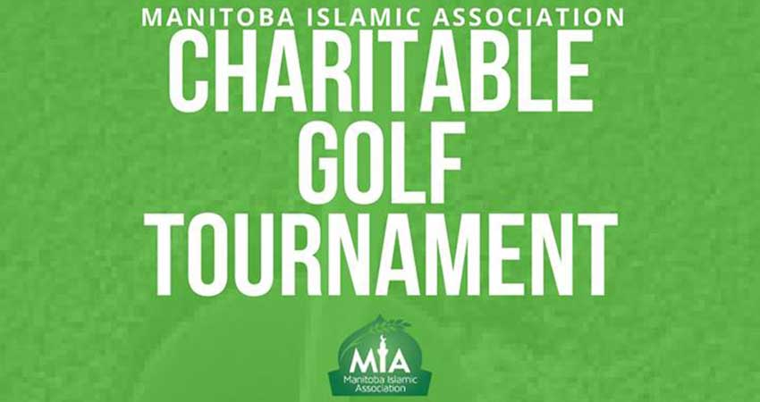 Manitoba Islamic Association Charity Golf Tournament