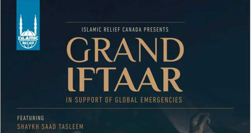 Islamic Relief Canada - Grand Iftaar Fundraiser