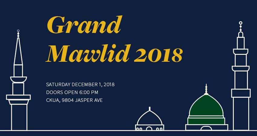 Tarjuma Grand Mawlid 2018