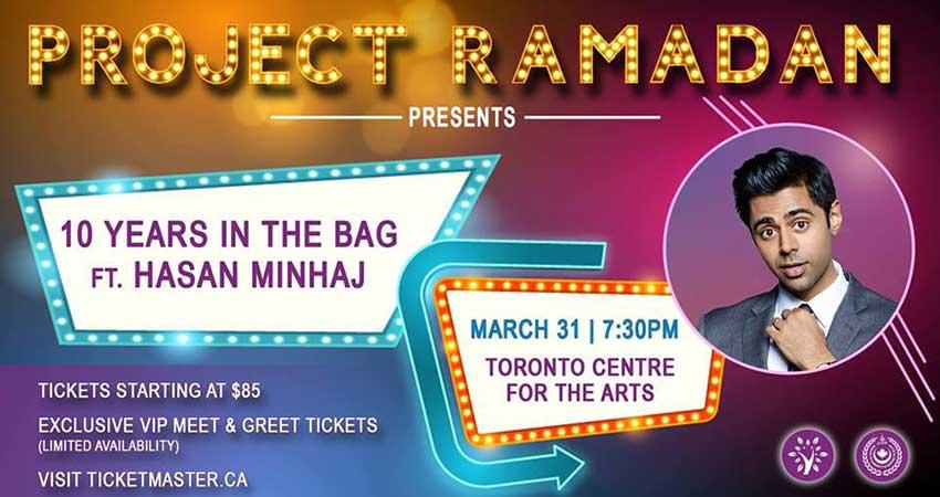 Project Ramadan Presents: 10 Years In The Bag Ft. Hasan Minhaj