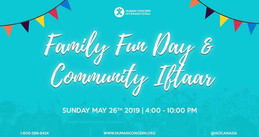 Human Concern International Family Fun Day and Community Iftaar