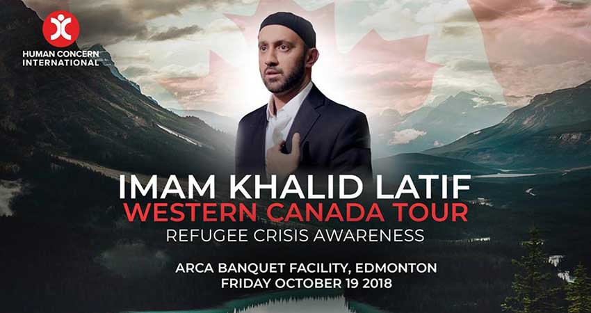 Human Concern International Imam Khalid Latif: Refugee Crisis Awareness