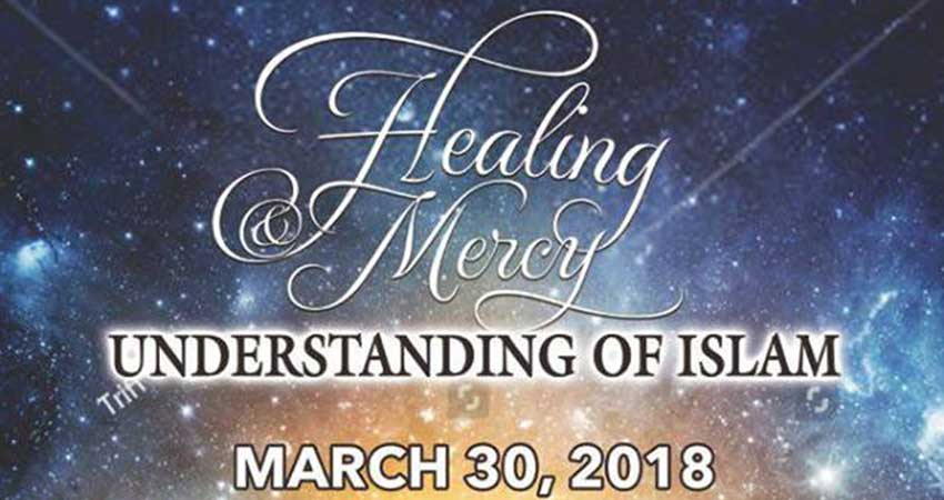 Islamic Centre of Cambridge Conference Healing Mercy