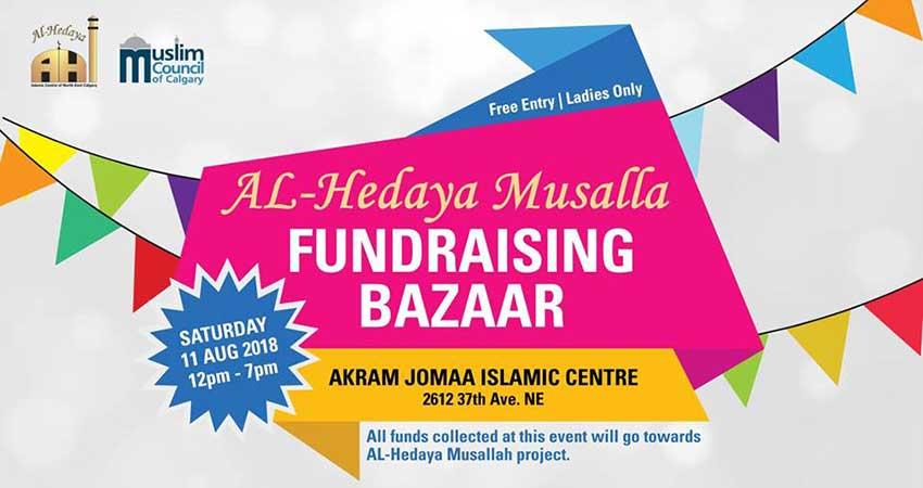 Al-Hedaya Musalla Fundraising Bazaar