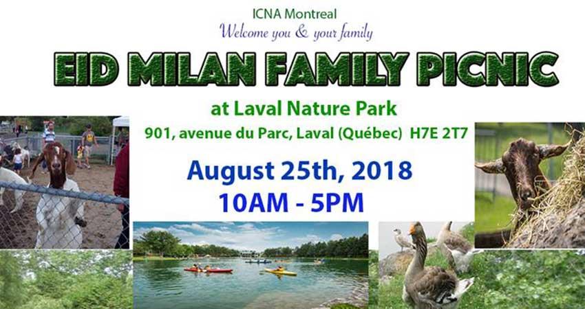 ICNA Montreal Eid Milan Family Picnic