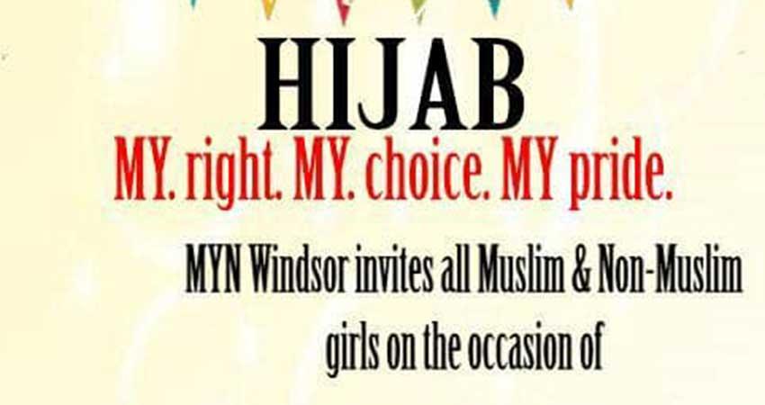 ICNA Sisters Canada World Hijab Day 2019