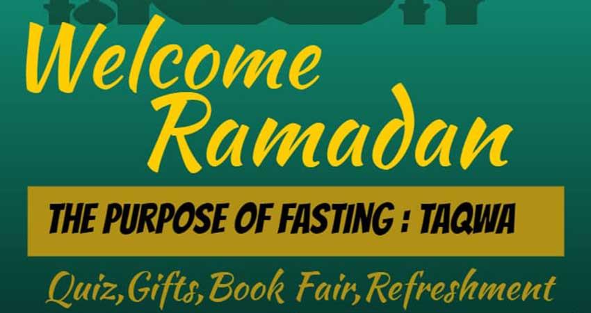 ICNA Sisters Canada - Edmonton Welcome Ramadan Program