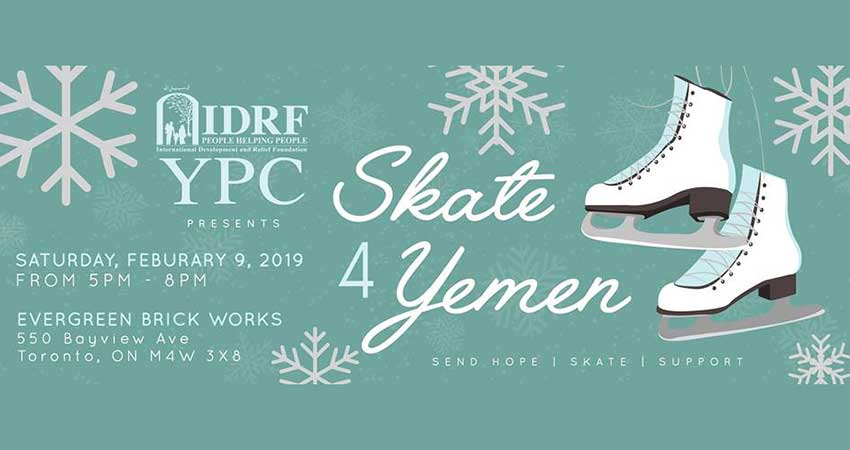 IDRF Skate 4 Yemen