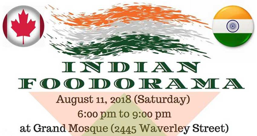 Indian Foodorama at Winnipeg Grand Mosque