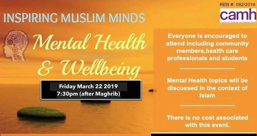 Muslim Medical Association of Canada Mental Health and Well-being Seminar