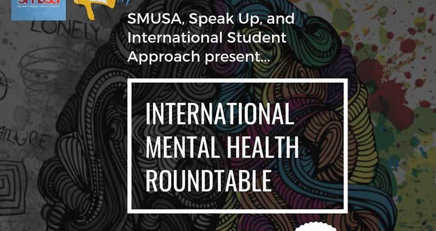 Speak Up Saint Mary's: International Students Mental Health Roundtable