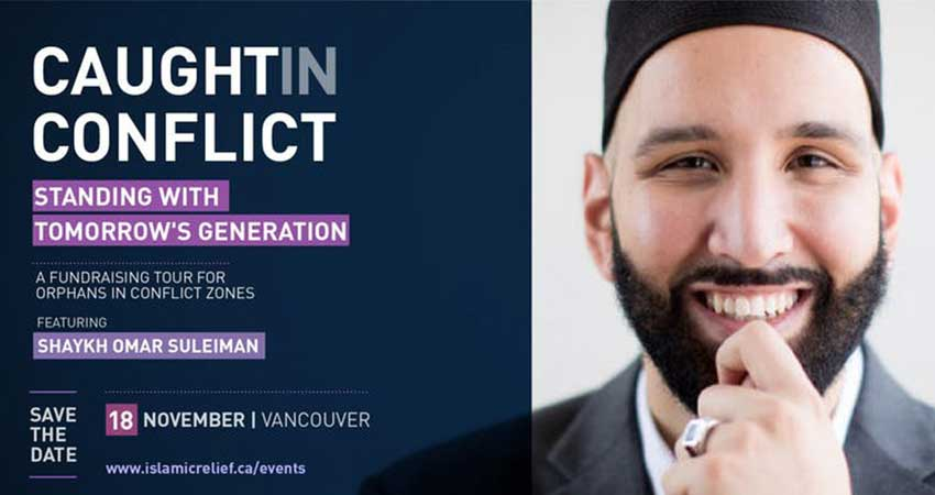 Islamic Relief Canada Fundraising Dinner for Orphans with Sh. Omar Suleiman ·Vancouver