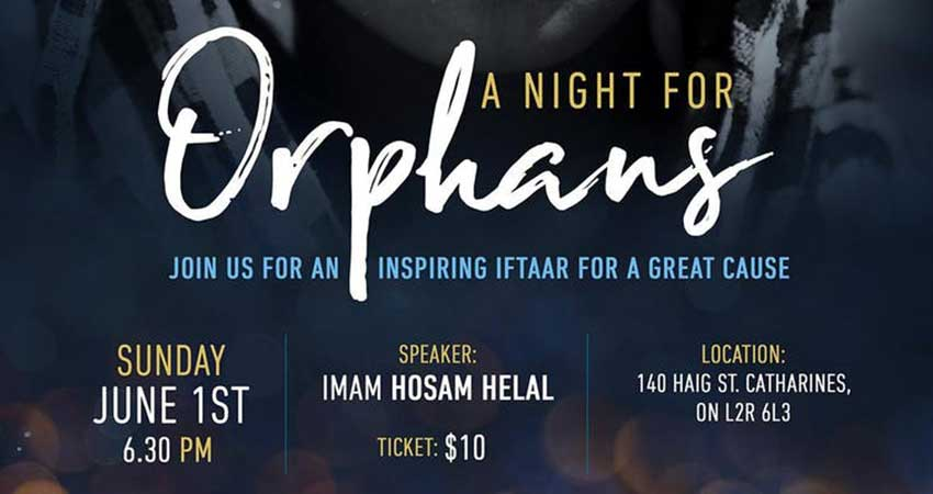 Islamic Relief Canada A Night for Orphans - St. Catharines