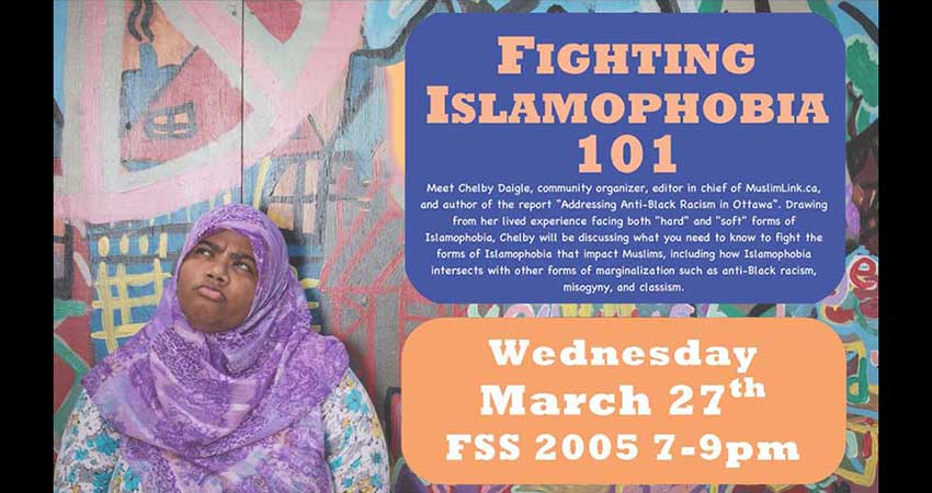 Fighting Islamophobia 101