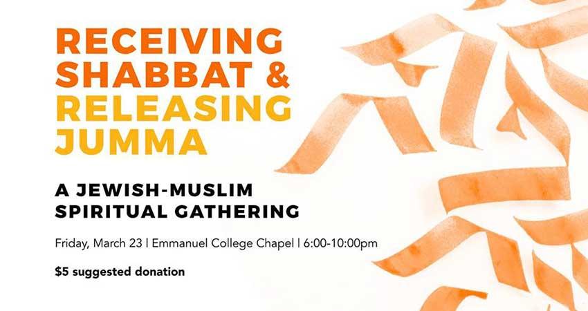 Shabbat-Jumma: A Jewish and Muslim Spiritual Gathering