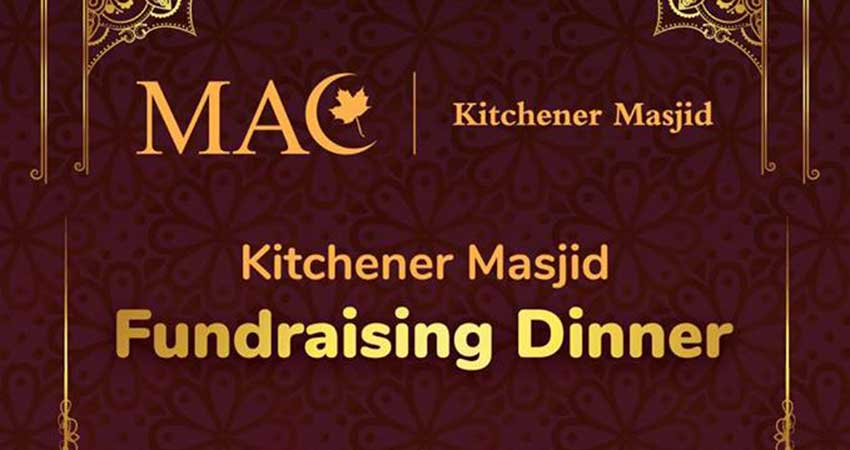 Kitchener Masjid Fundraising Dinner