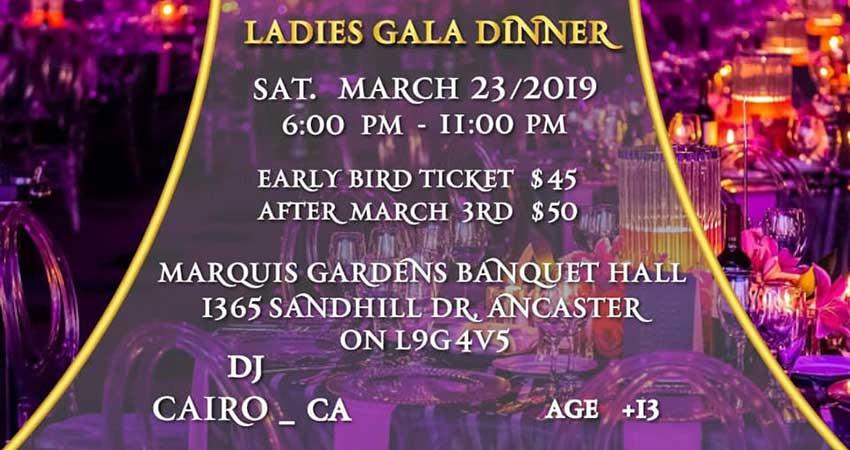 Ladies Gala Dinner