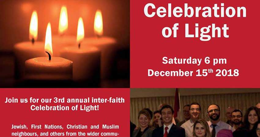 Montreal City Mission Interfaith Celebration of Light