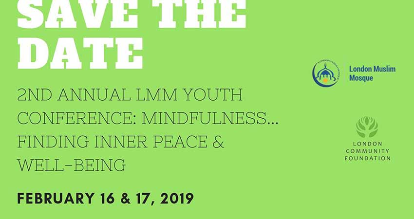 London Muslim Mosque Youth Conference: Finding Inner Peace & Well-Being
