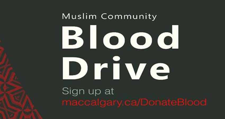 Muslim Community Blood Drive