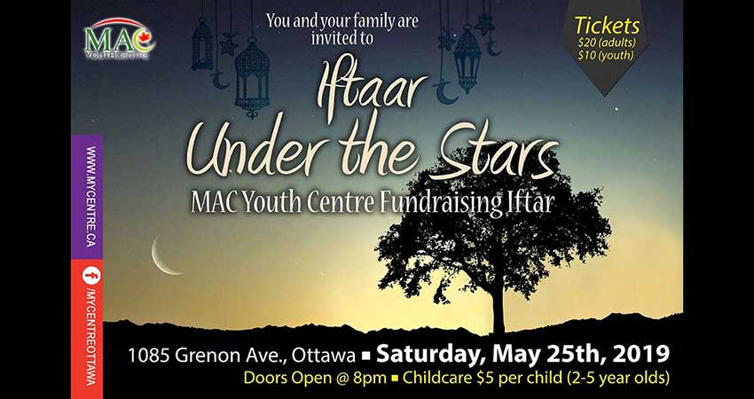 MAC Youth Centre Iftar under the Stars Fundraising Dinner