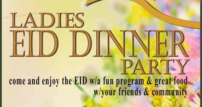 MAC Ladies Eid Dinner Party
