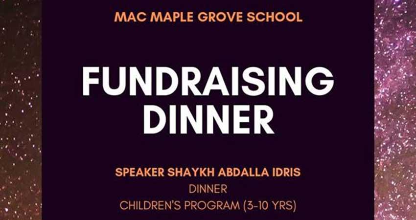 MAC Maple Grove School Fundraising Dinner