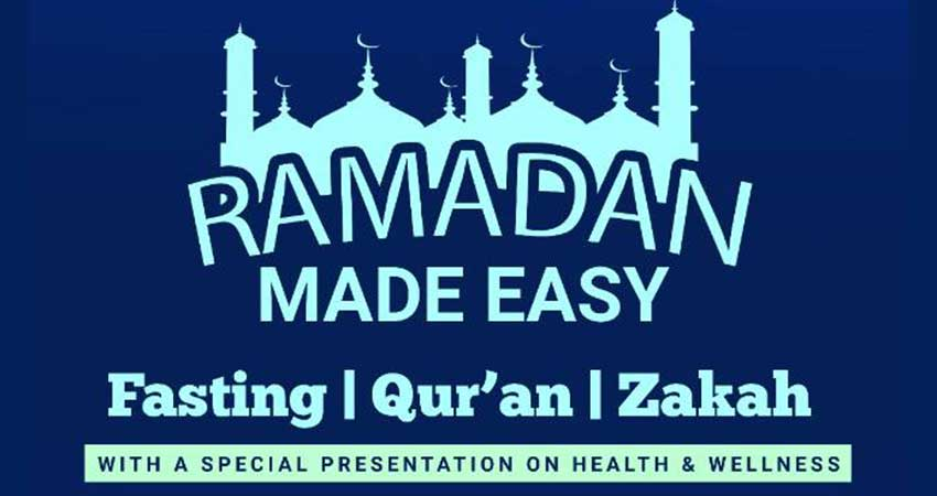 Pickering Islamic Centre Ramadan Made Easy Event