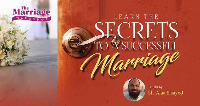 ISNA Canada Learn the Secrets to a Successful Marriage