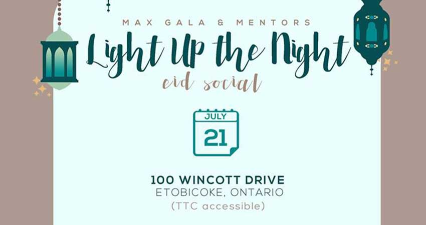 MAX - Muslim Awards for Excellence Light Up the Night Eid Social