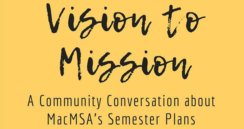 McMaster MSA Vision to Mission