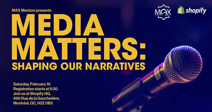 MAX - Muslim Awards for Excellence Media Matters: Shaping Our Narratives
