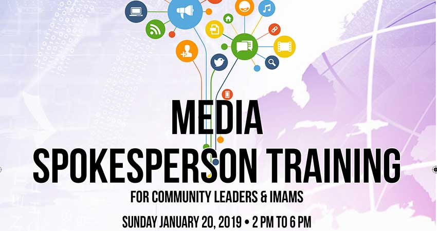 Sound Vision Media Spokesperson Training for Community Leaders and Imams with Journalist Haroon Siddiqui