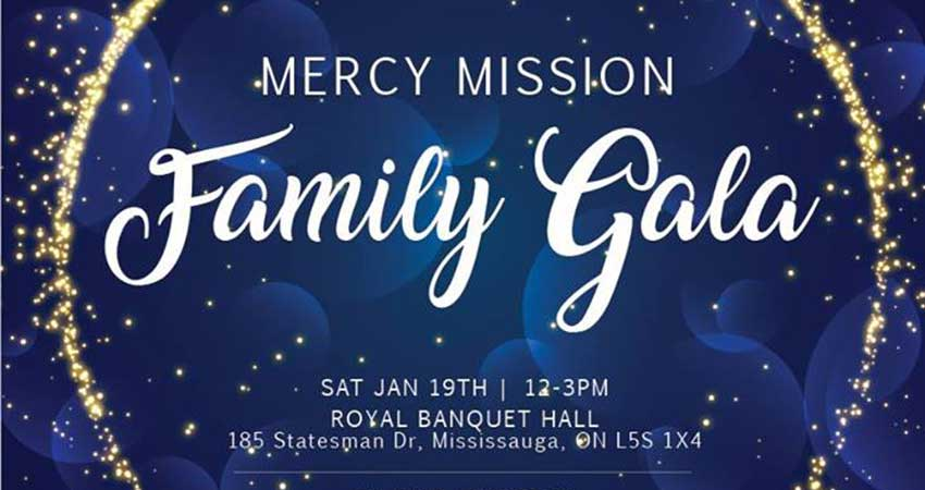 Mercy Mission Family Dinner: Sincerely in Service