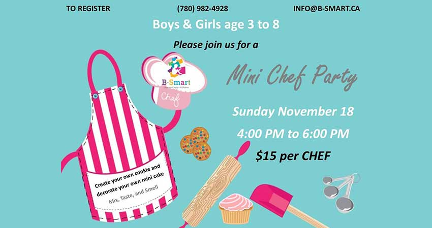 B-Smart Learning Center Mini Chef Party