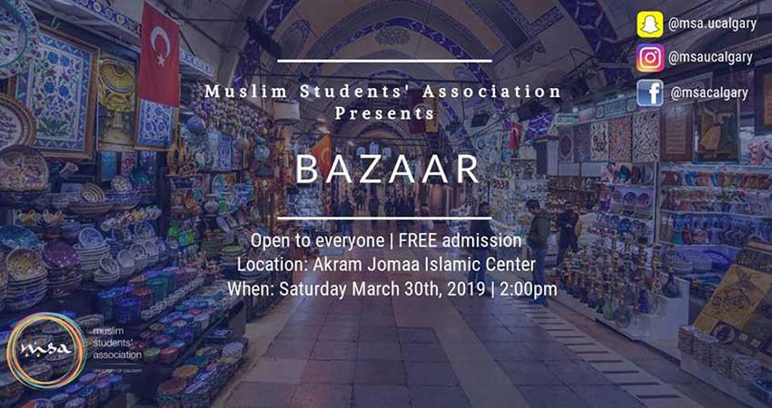 MSA Calgary Pre-Ramadan Bazaar