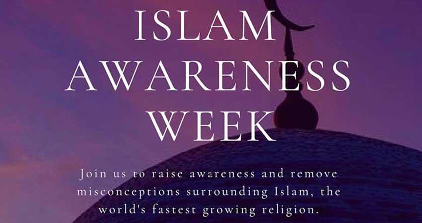 MSA - Muslim Student Association - University of Manitoba Islam Awareness Week Winter Term 2019