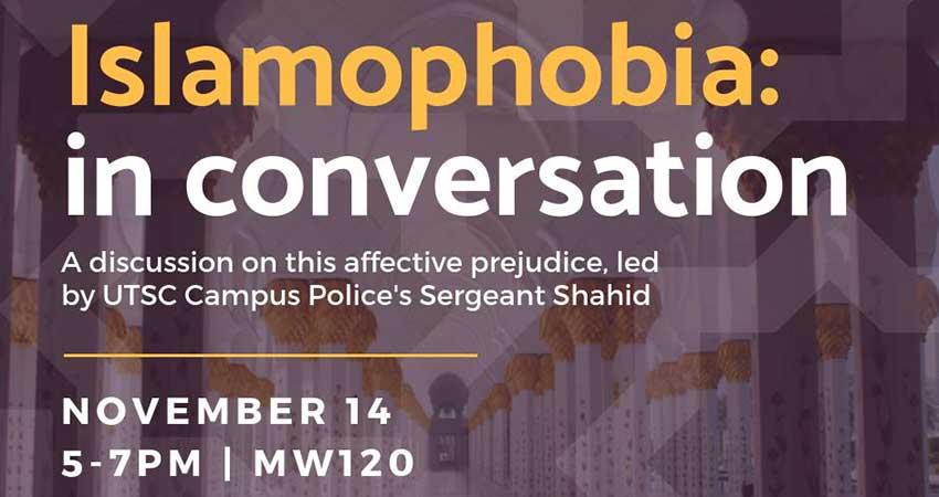 UTSC MSA Islamophobia: In Conversation