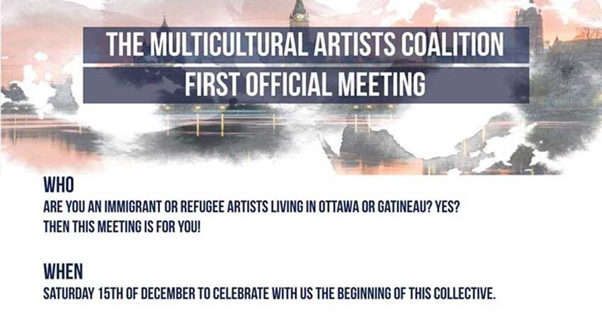 The Multicultural Artists Coalition 1st Official Meeting