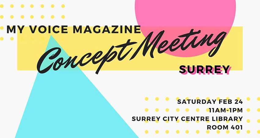 MY Voice Magazine Concept Meeting (Surrey)