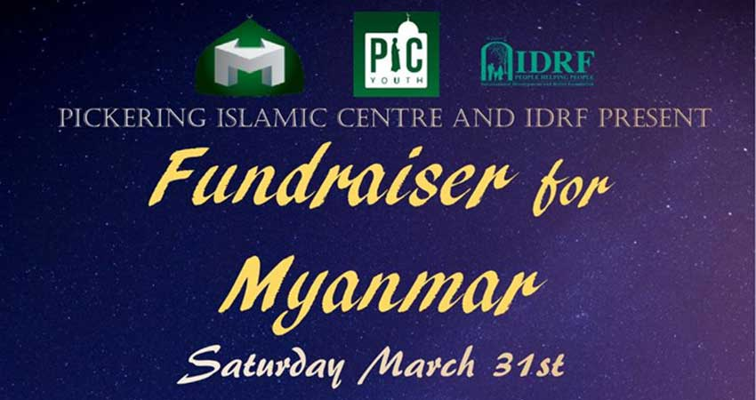 Fundraiser For Myanmar